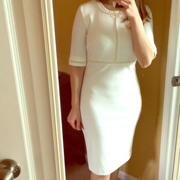 c5ea59a8796 Karl Lagerfeld Dresses   New Paris Ivory Pearl Dress 2   Poshmark
